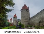 fortification walls of the old... | Shutterstock . vector #783303076