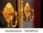 Luxury Gold Handle In Japanese...
