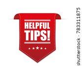 helpful tips vector   Shutterstock .eps vector #783311875