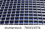 window texture of a building | Shutterstock . vector #783313576