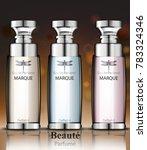 women perfume bottles... | Shutterstock .eps vector #783324346