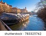 city of graz mur river and...   Shutterstock . vector #783325762