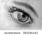 Eye  Realistic Drawing Of...