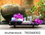 thai spa treatments aroma... | Shutterstock . vector #783368302