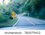 take a photo mountain road at... | Shutterstock . vector #783375412