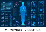 medical health care human... | Shutterstock .eps vector #783381802