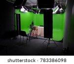 photo studio and green... | Shutterstock . vector #783386098