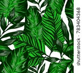 watercolor seamless pattern... | Shutterstock .eps vector #783404368