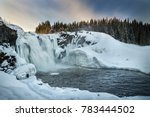 Largest Waterfall Of Sweden  ...