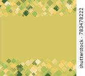 rhombus texture consists of... | Shutterstock .eps vector #783478222