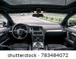 modern luxury prestige car...   Shutterstock . vector #783484072