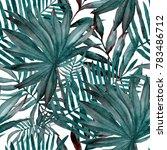 watercolor seamless pattern... | Shutterstock . vector #783486712