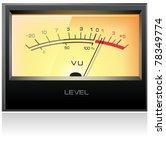 Analog Electronic Vu Meter ...