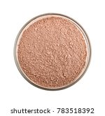 pink cosmetic clay powder in... | Shutterstock . vector #783518392