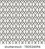 abstract art deco seamless... | Shutterstock .eps vector #783526096