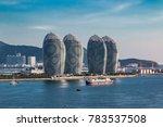 Hainan Sanya Bay urban architecture landscape