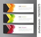 web banner set design. inspired ...   Shutterstock .eps vector #783550375