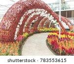 modern garden design   Shutterstock . vector #783553615