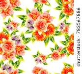 abstract elegance seamless... | Shutterstock . vector #783567886