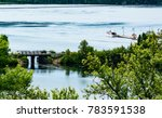 View of the harbour at Nipigon, Ontario, Canada