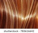 highlight hair texture abstract ... | Shutterstock . vector #783616642
