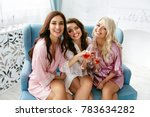 girls party. beautiful women... | Shutterstock . vector #783634282