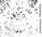 radial concentric particles...   Shutterstock .eps vector #783634936