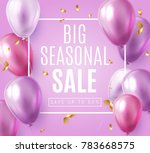 big seasonal final sale text ... | Shutterstock .eps vector #783668575