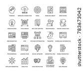web design flat line icons 3 | Shutterstock .eps vector #783673042