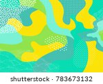 creative geometric colorful... | Shutterstock .eps vector #783673132