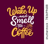 typography   hand lettering... | Shutterstock .eps vector #783699688