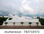sleeping buddha at vihara... | Shutterstock . vector #783710572