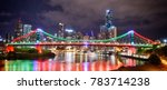 brisbane scenery  city view ... | Shutterstock . vector #783714238