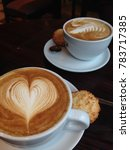 coffee for two | Shutterstock . vector #783717385