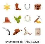 set of 12 icons from the... | Shutterstock .eps vector #78372226