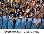 dhaka  bangladesh december 30 ... | Shutterstock . vector #783728902