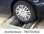 car brake test | Shutterstock . vector #783732562