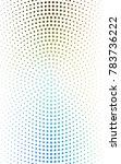 light blue banners set of... | Shutterstock . vector #783736222
