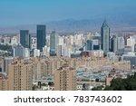 cityscape of urumqi of xinjiang ... | Shutterstock . vector #783743602