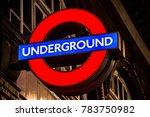 london  england. 23rd december... | Shutterstock . vector #783750982
