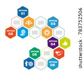 core values infographic  | Shutterstock .eps vector #783752506