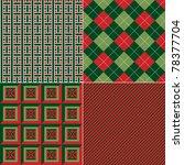 Set Of Repeating Geometric...