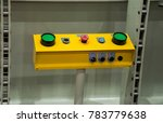 green buttons push switch for... | Shutterstock . vector #783779638