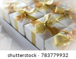 beautiful wedding favors spouses | Shutterstock . vector #783779932
