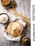 indian chapati   fulka or gehu... | Shutterstock . vector #783790375