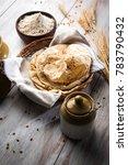 indian chapati   fulka or gehu... | Shutterstock . vector #783790432