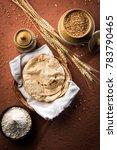 indian chapati   fulka or gehu... | Shutterstock . vector #783790465