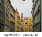 prague baroque buildings | Shutterstock . vector #783796312