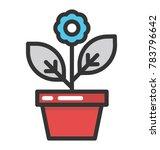 indoor plant vector icon