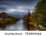 calm lake reflections on a... | Shutterstock . vector #783804466
